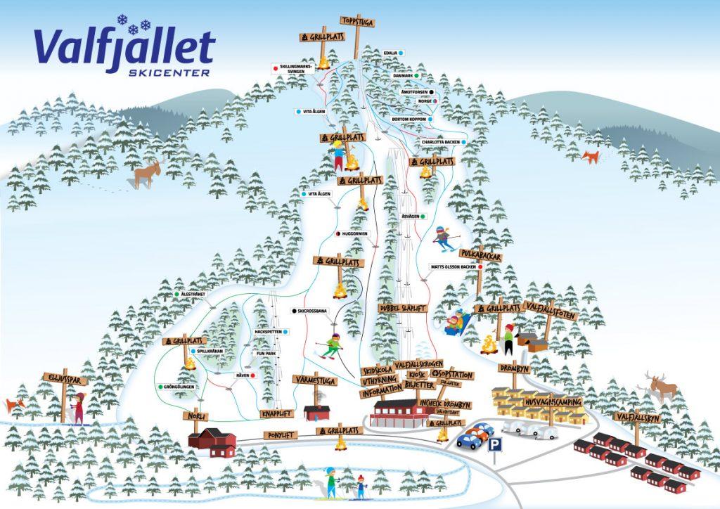 illustration grafisk design kartor valfjället hello kommunikationsbyrå reklam webb trycksaker värmland reklam reklambyrå skapa