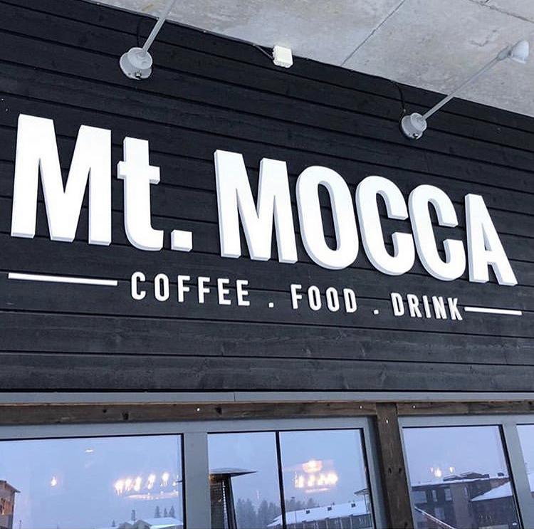 Mt.MOCCA logotypdesign Trysil Radisson