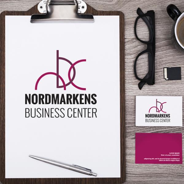 Nordmarkens business center Grafisk profil